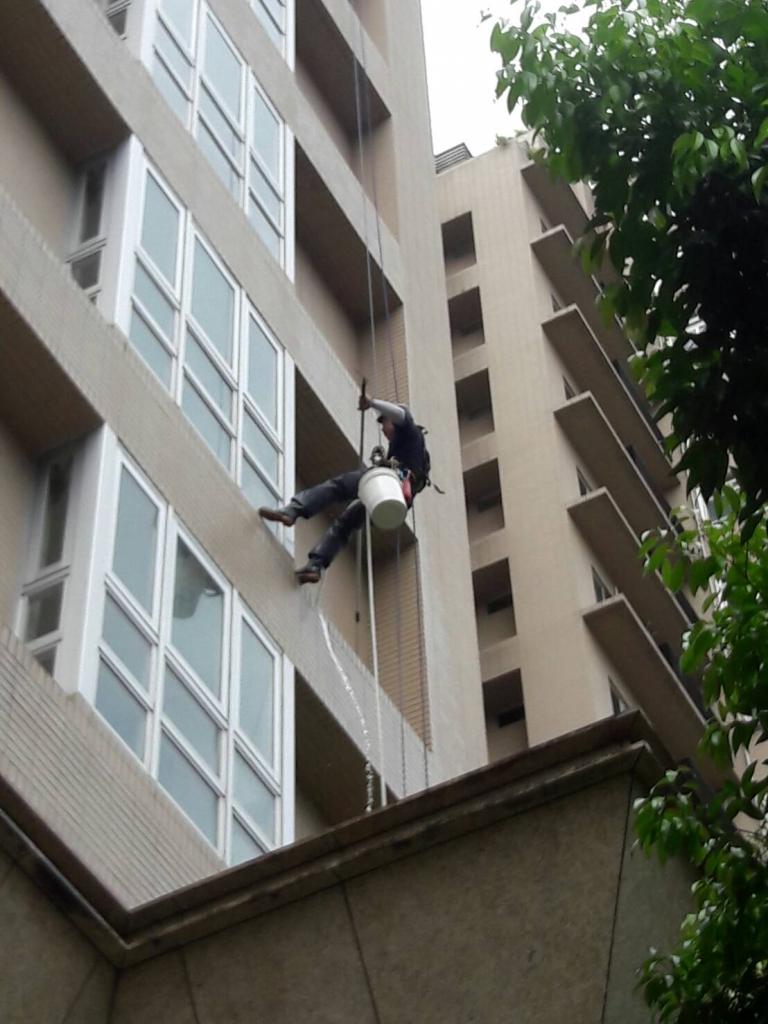 高空繩索作業(蜘蛛人垂降)