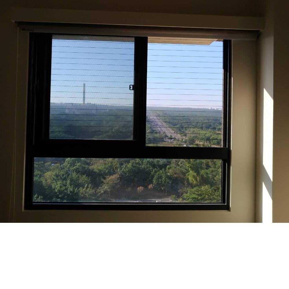 新竹縣竹北市 蕭小姐 隱形鐵窗 窗戶安裝防墜網分享推薦