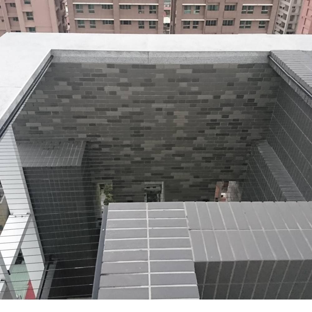 新北金山 涂先生 隱形鐵窗天井防墜安裝分享推薦