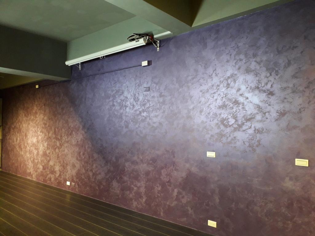 藝人蕭淑慎辦公室特殊塗料施工