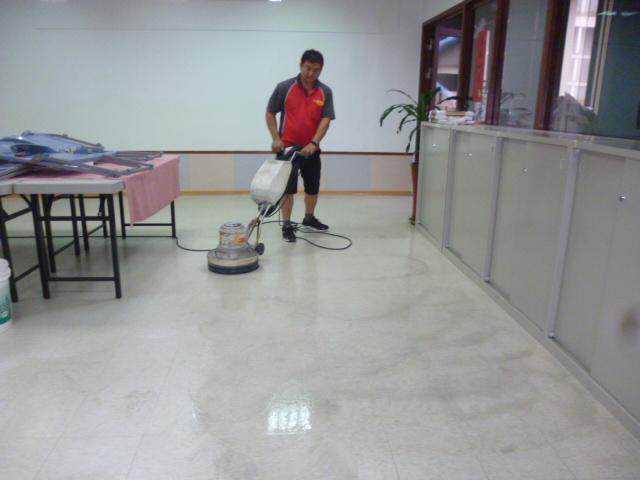 新竹地板打蠟