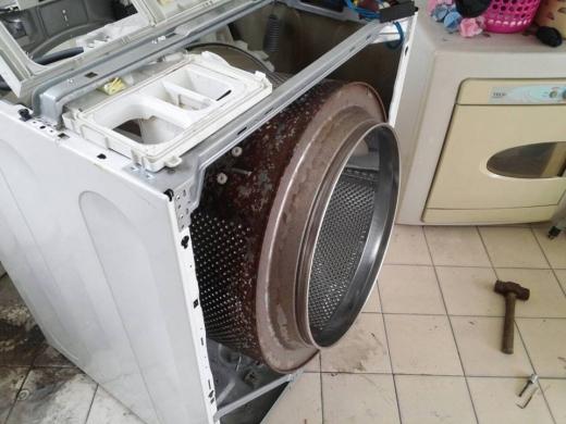 內槽清洗前