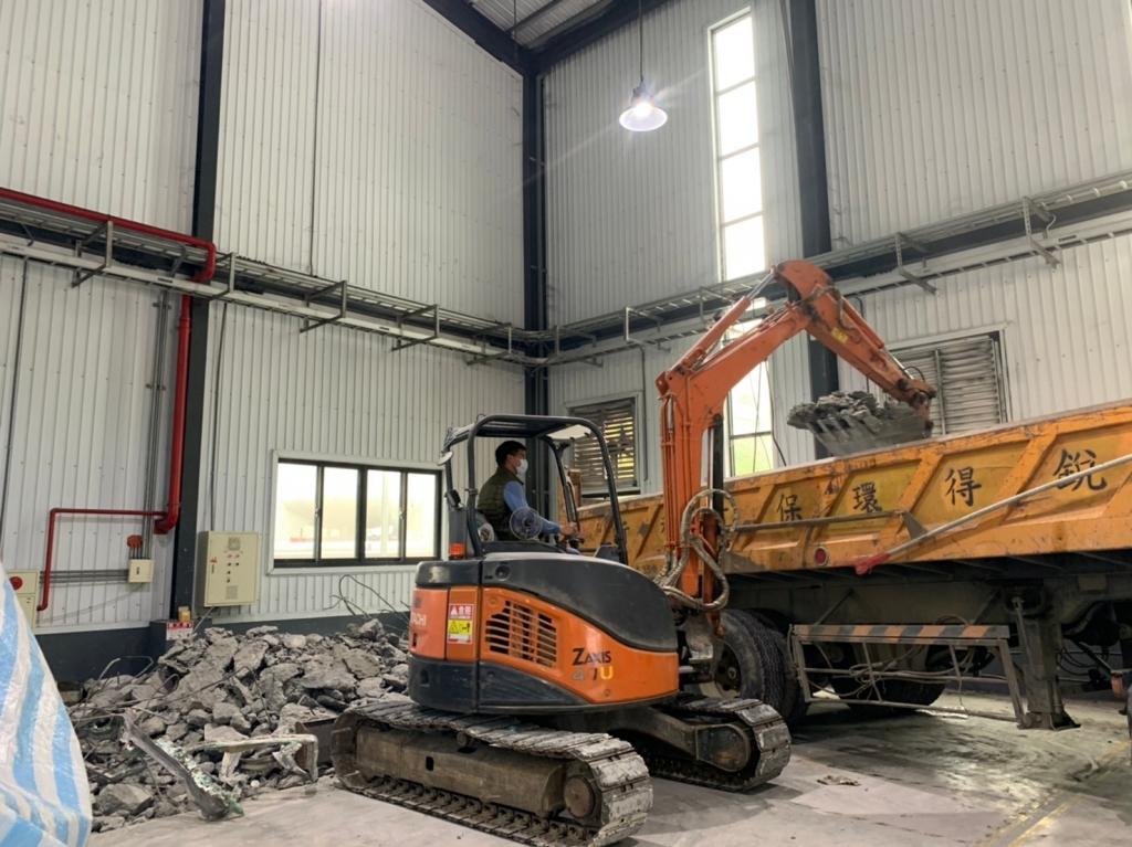 廠房室內基礎施工