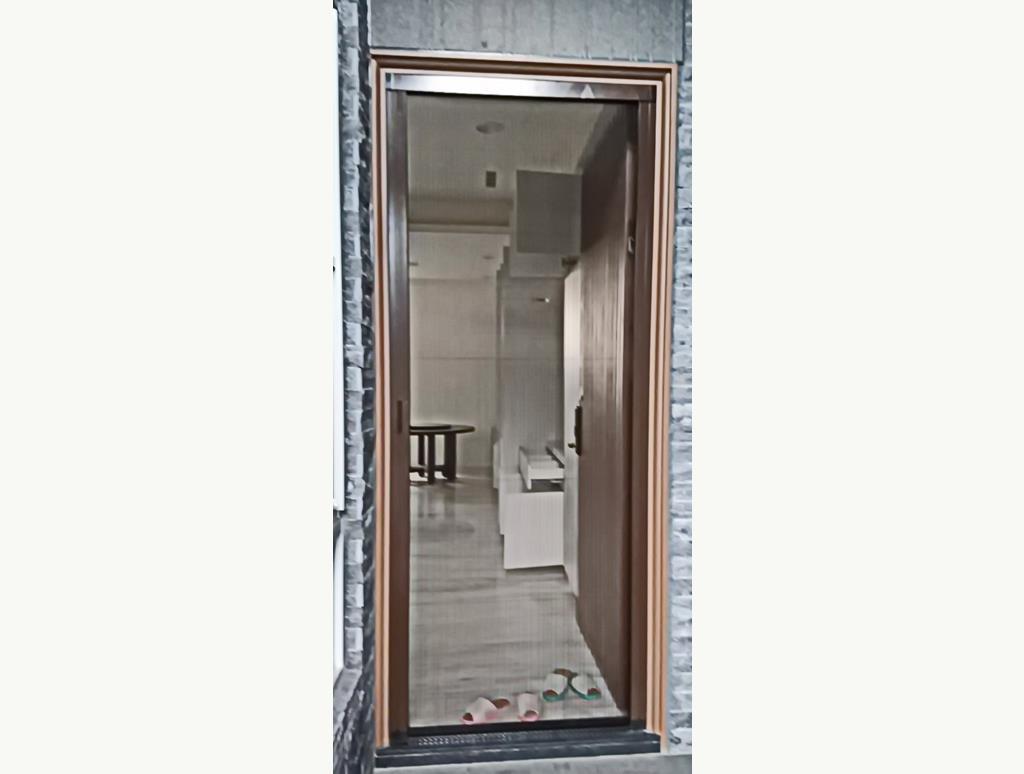 鋁氣密窗/鋁落地門/摺紗設計