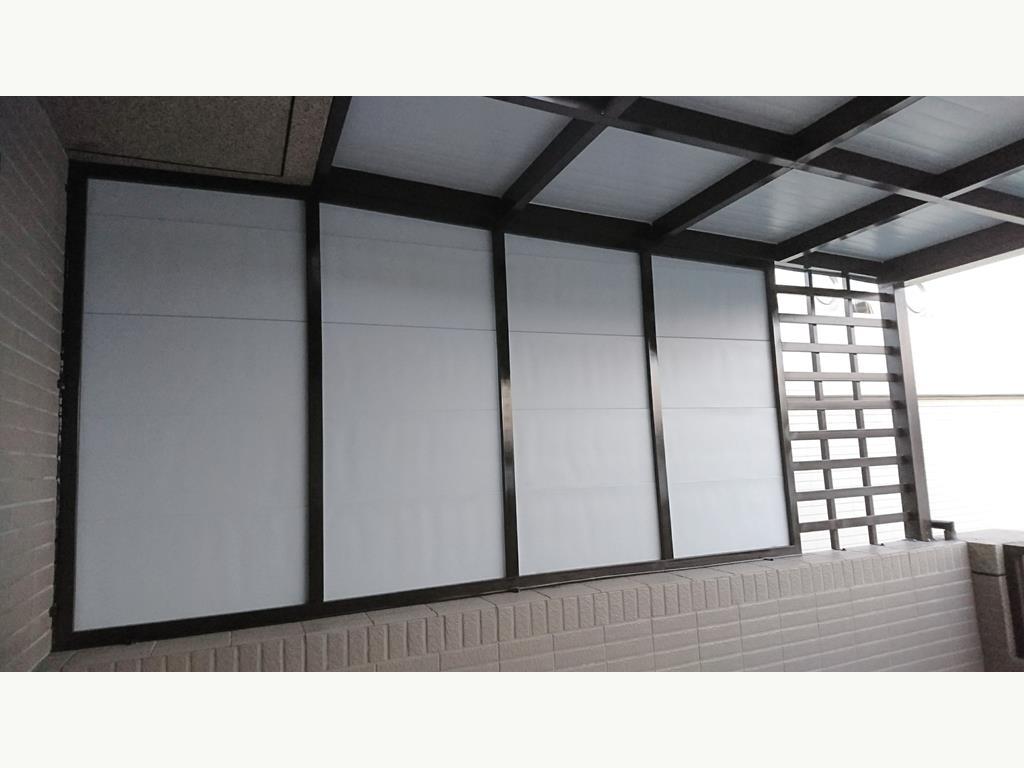 琉璃鋼瓦 / 浪板採光罩(鐵皮屋)