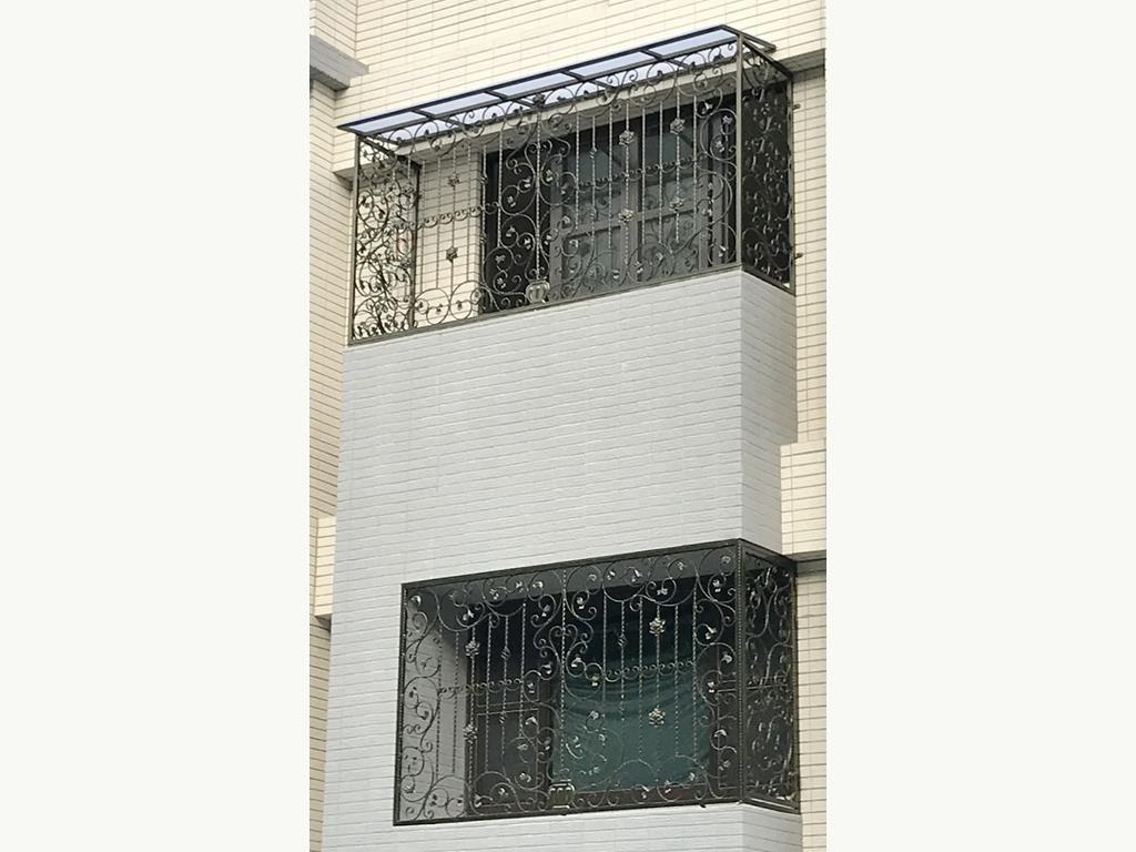 防盜窗/鍛造窗/隱形鐵窗/固定玻璃防盜設計