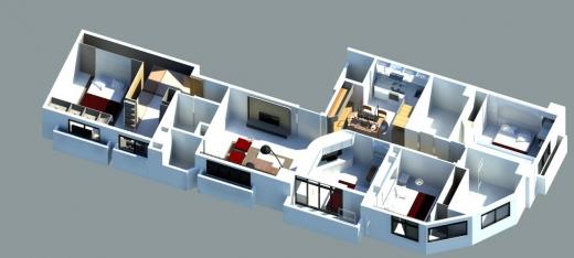台中室內裝潢(3D)