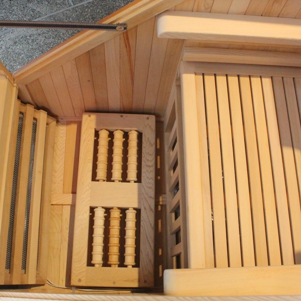 台灣檜木個人式蒸氣烤箱