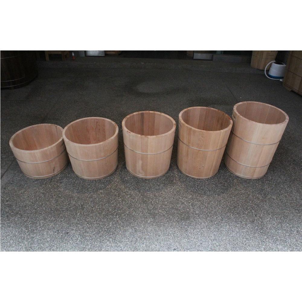寮國檜木泡腳桶