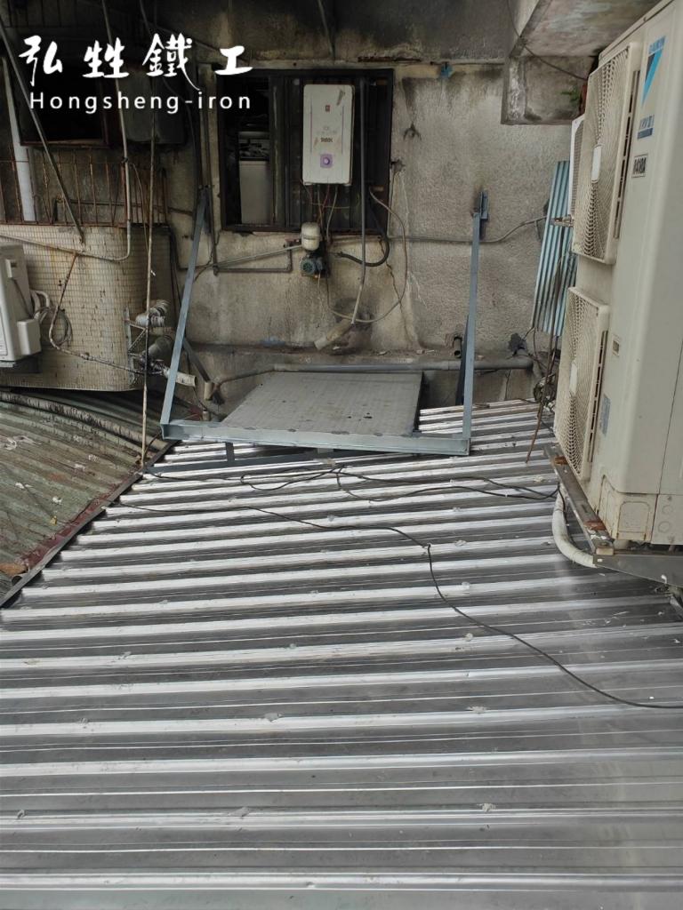 鐵皮屋換修更新、防水修繕