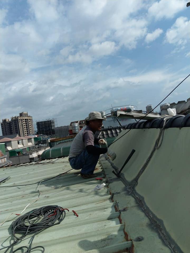 屋頂鐵皮屋翻新