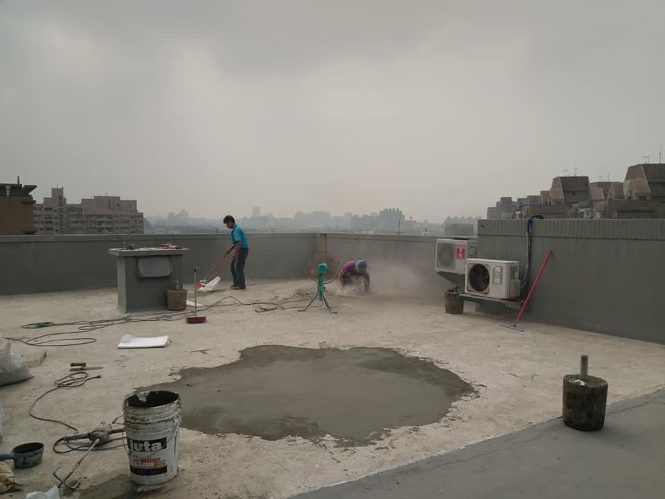 頂樓防水施作