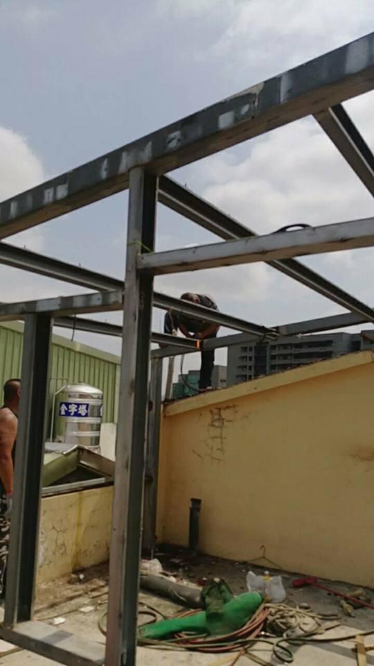 鐵皮屋頂拆除重建