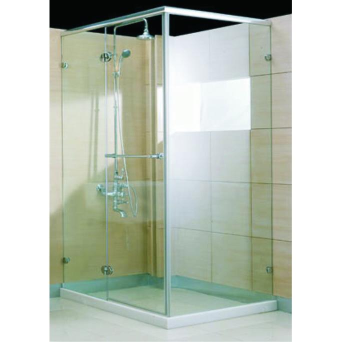 L型淋浴拉門(玻璃)
