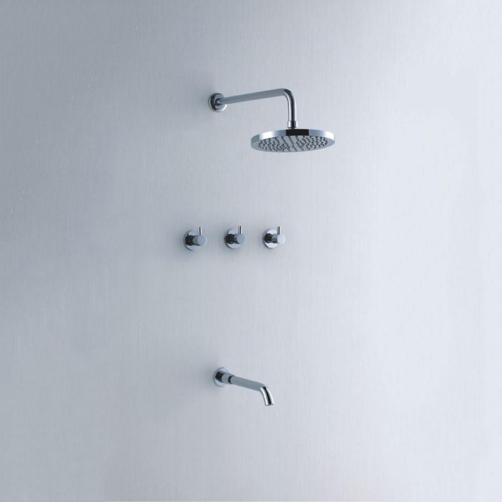 崁壁式淋浴龍頭-貨號