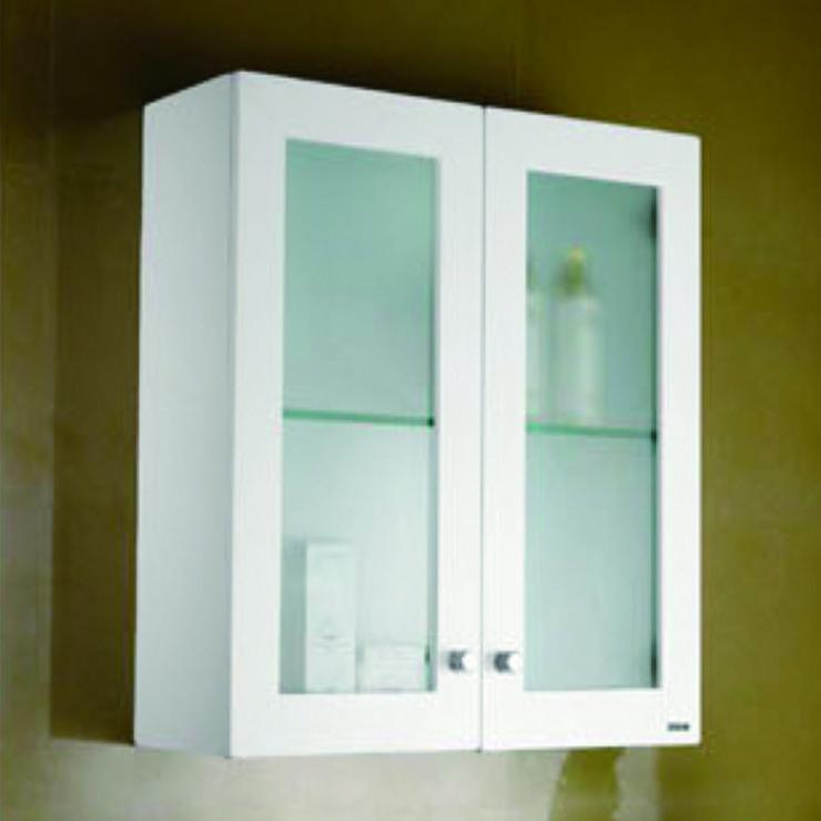 烤漆玻璃雙門浴櫃(6