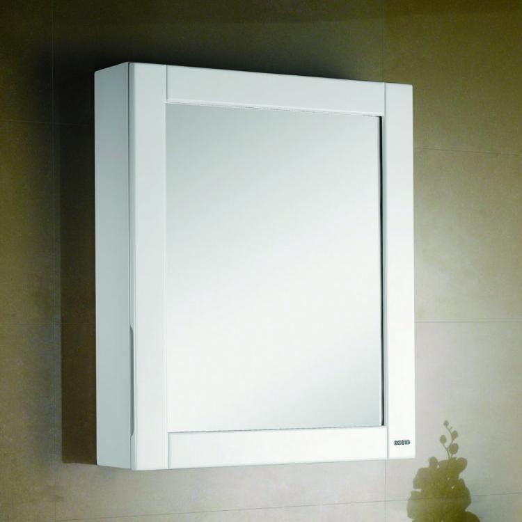 烤漆玻璃單門鏡櫃(5