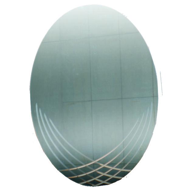 鑽雕橢圓防霧明鏡 7