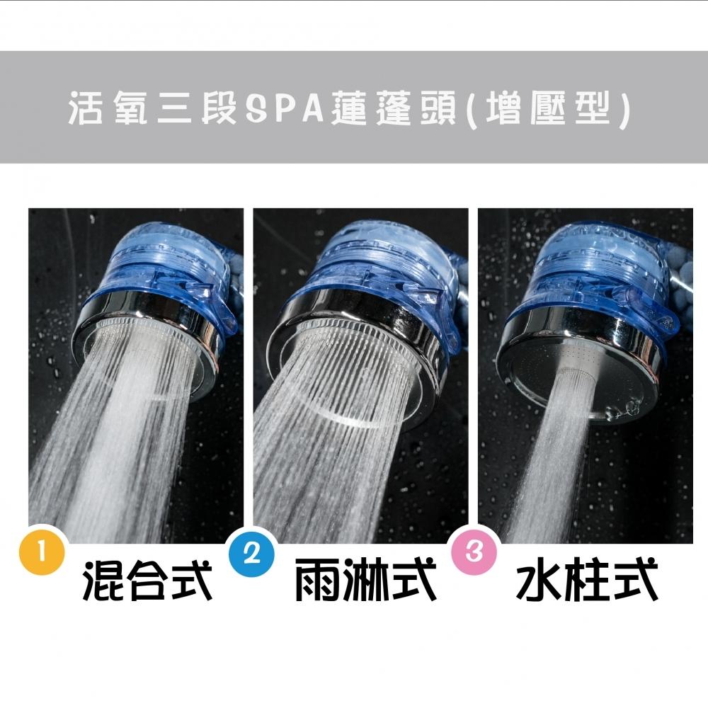 活氧SPA三段式蓮蓬頭 貨號:5023-993