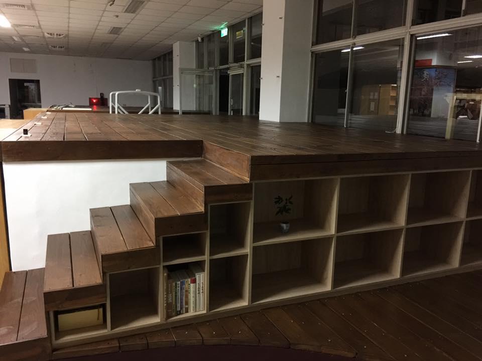 公共空間規劃-豐原高中圖書館裝修案
