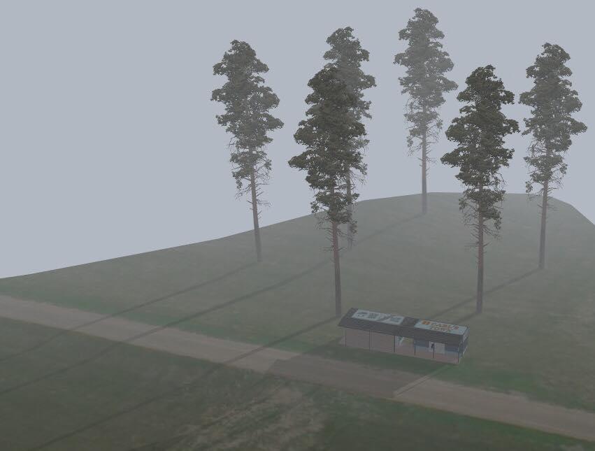 公共空間規劃-合歡山翠峰露營區-衛生間和淋浴造型規劃