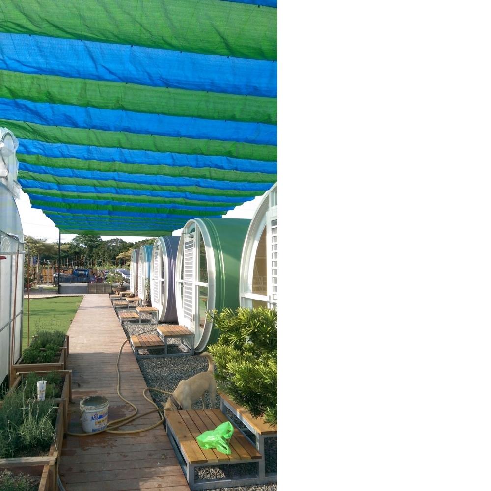 遮陽網設計-自動式