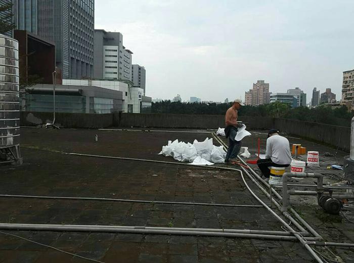 防水工程施作