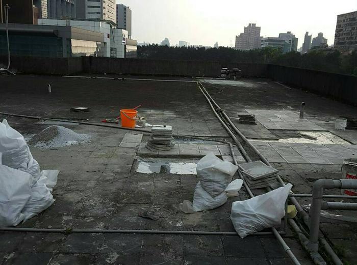 屋頂打石工程