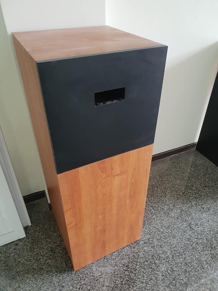 客製化木作垃圾桶