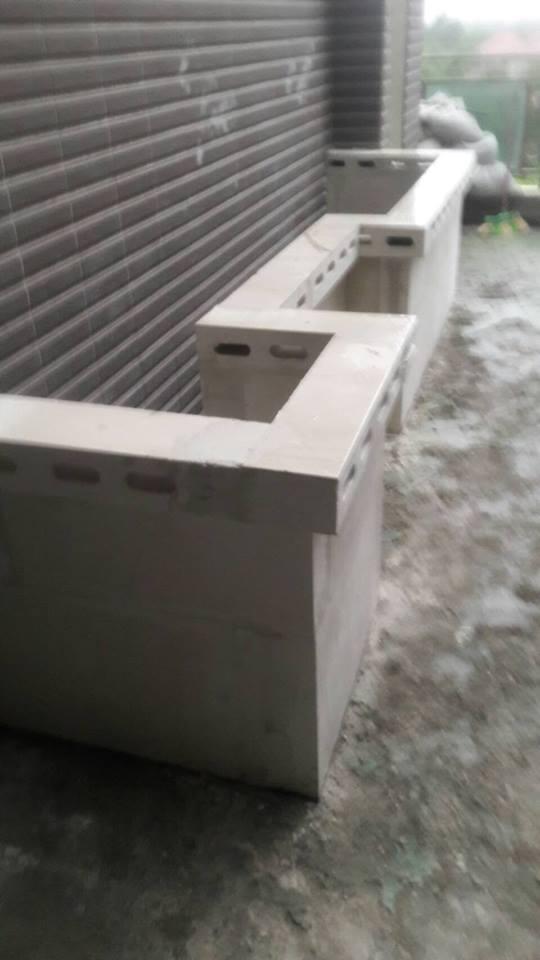 石膏磚-花圃花台