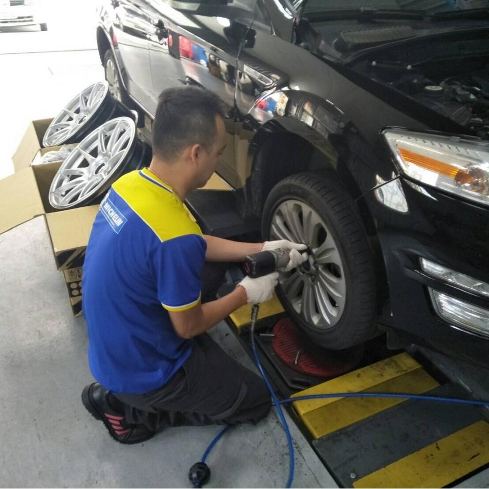 台中汽車換輪胎