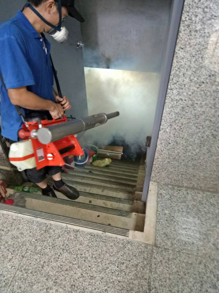 中和區環境清潔消毒