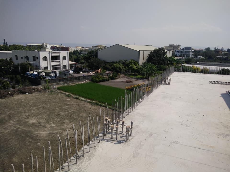 1061106彰化北斗欄杆(女兒牆)打除工程
