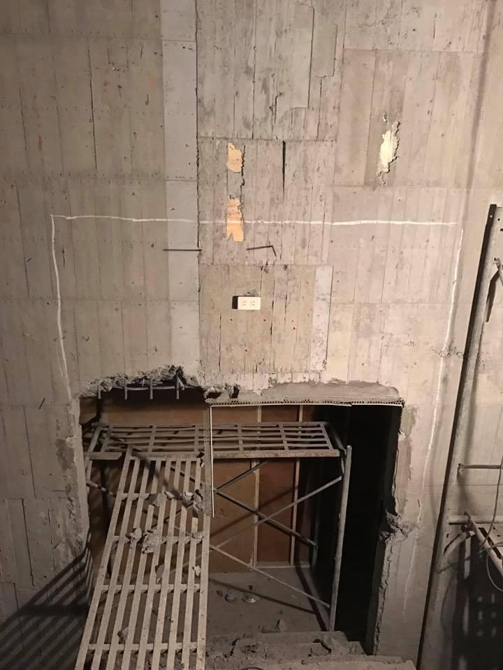 1070125彰化田中工業區門框加大打除工程