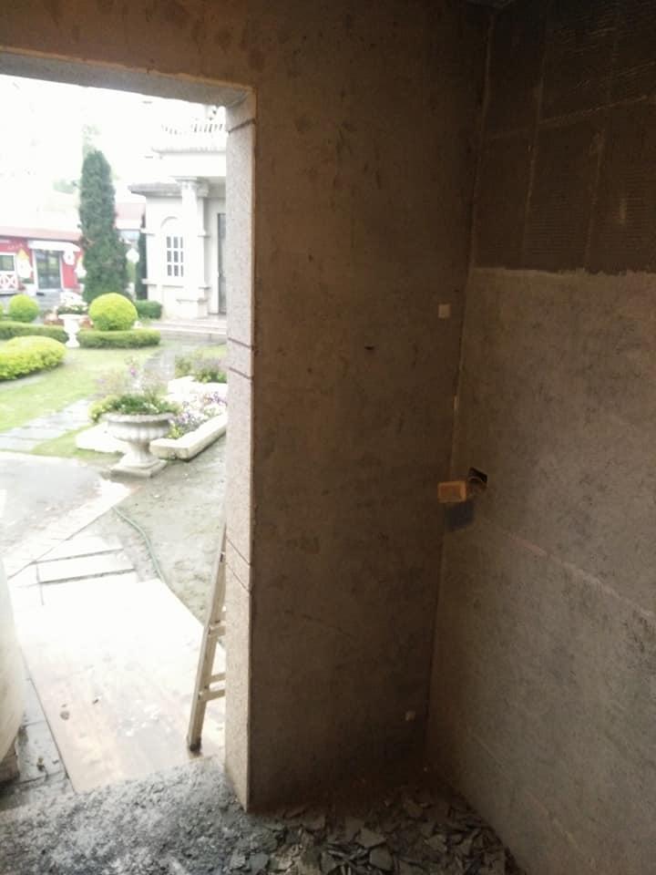 1070316彰化埤頭臺灣穀堡內部壁面打除工程