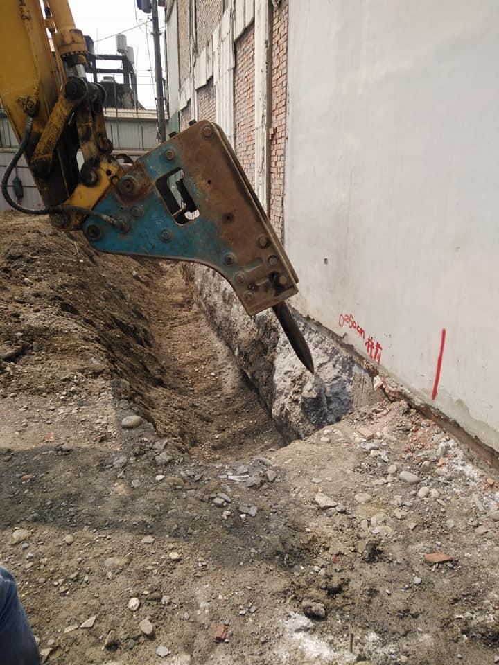 1070319彰化田中南北街地基基礎打除工程