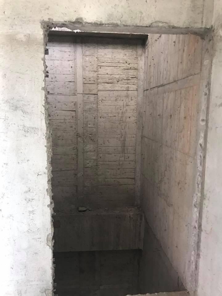 1070406彰化員林萬年路電梯門打除工程