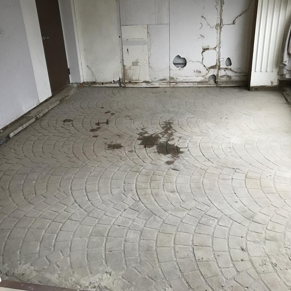 1070826台中裝潢地板拆除工程