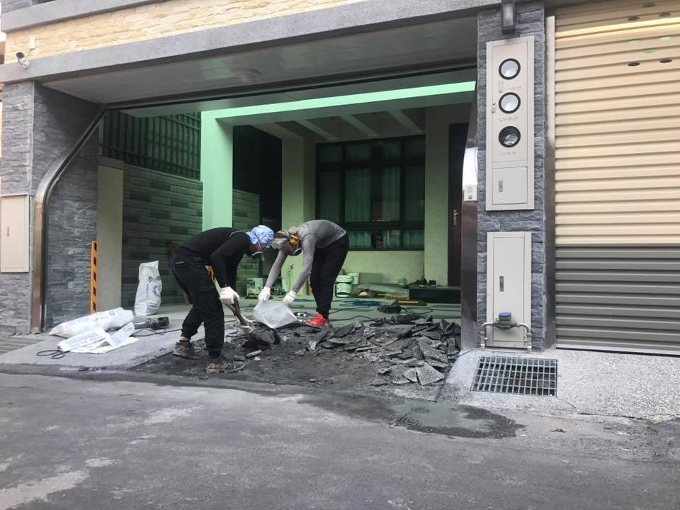 0215彰化大村抿石地面打除