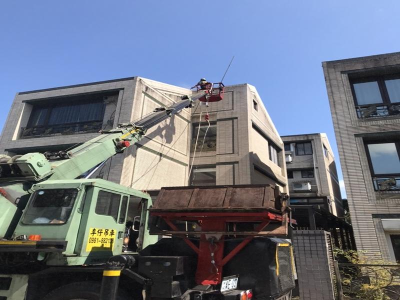 台北華城外牆清洗