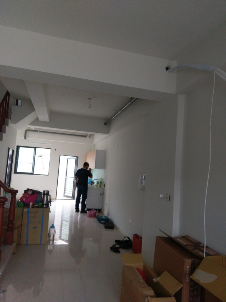 台中PVC管套銅管吊架工程
