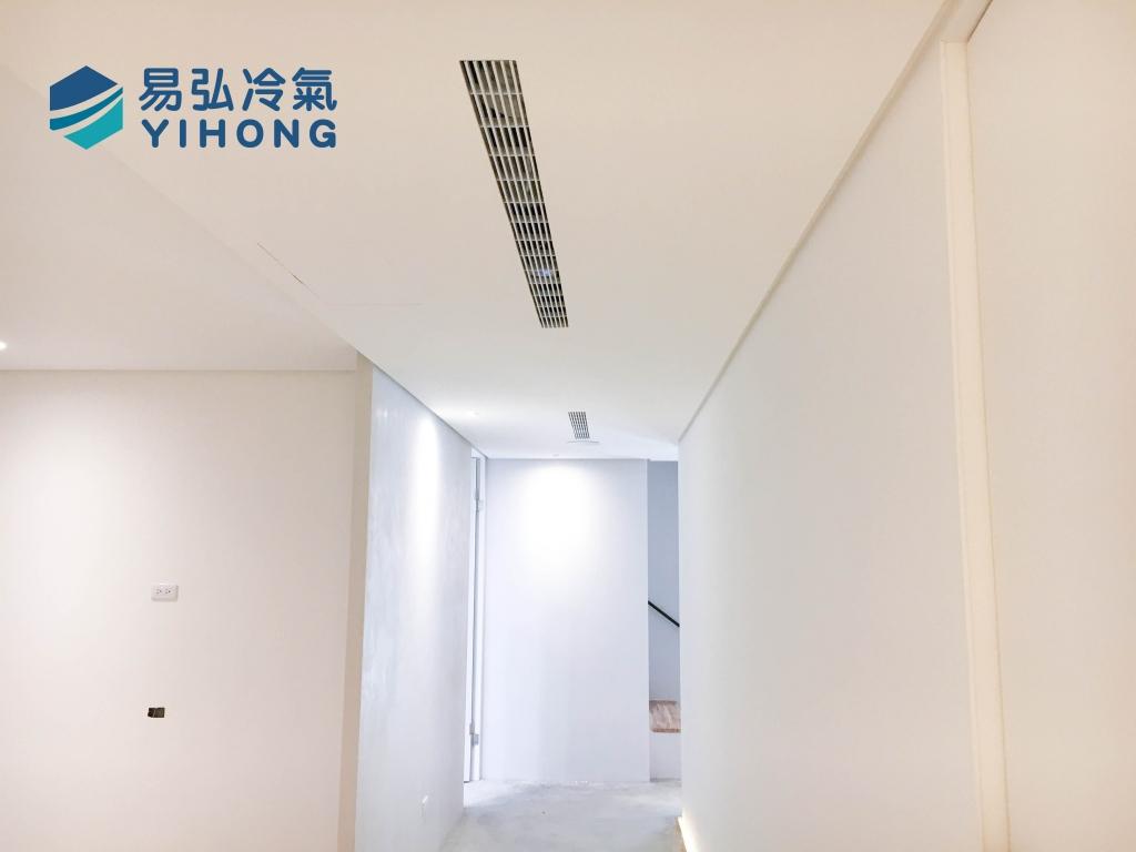 易弘冷氣 大錸建設展示屋空調規劃施作