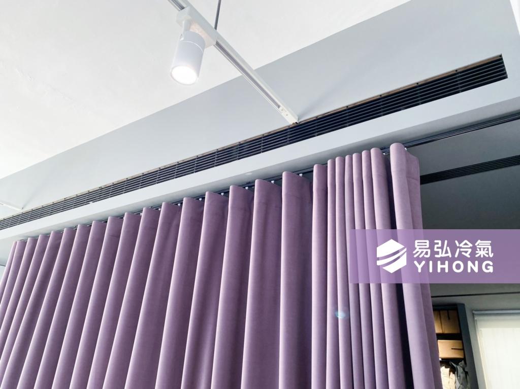 台中易弘冷氣空調行 Panasonic國際牌冷氣安裝  QX冷暖 YOUTH尤絲髮廊 台中冷氣安裝推薦 冷氣裝潢