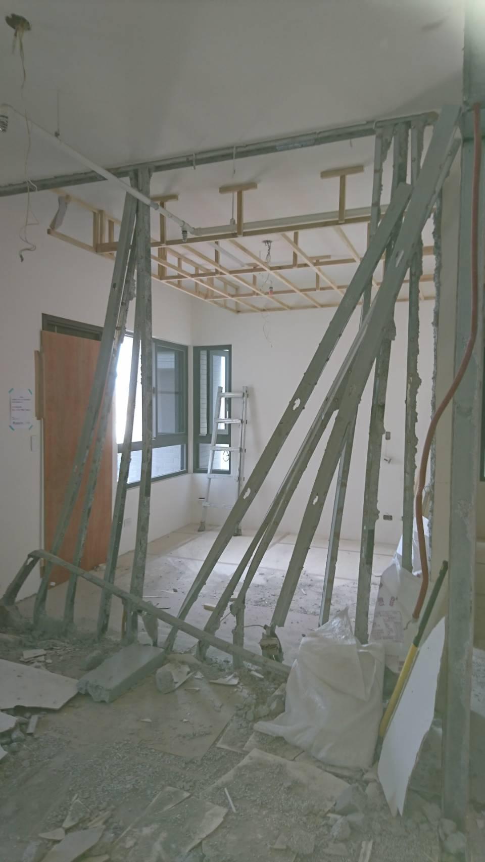 室內局部牆壁拆除工程