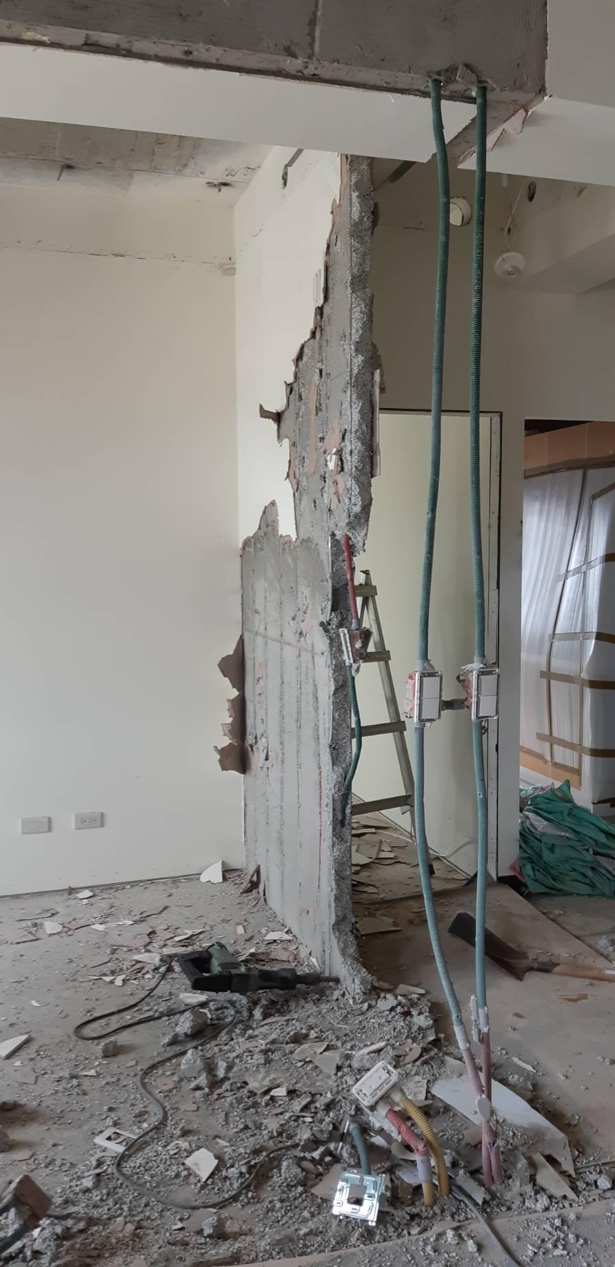 輕質牆拆除工程