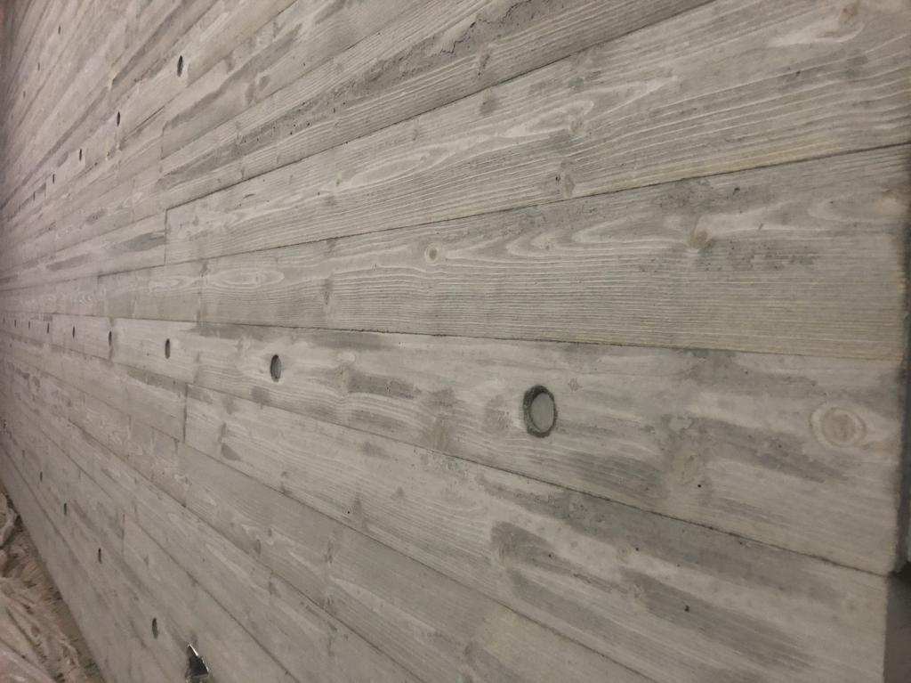 台南-胡公館-木紋電視牆